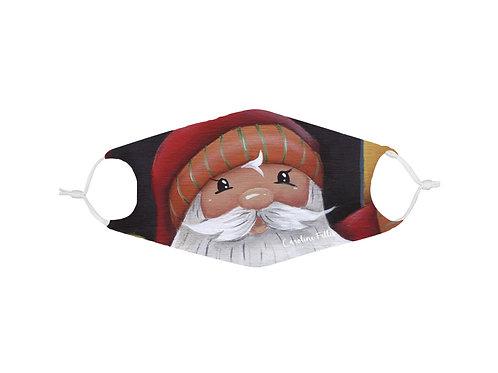 Masque avec filtre Père Noël