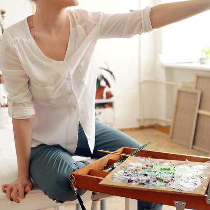 Cours de peinture à l'huile avec Jasmine Roy
