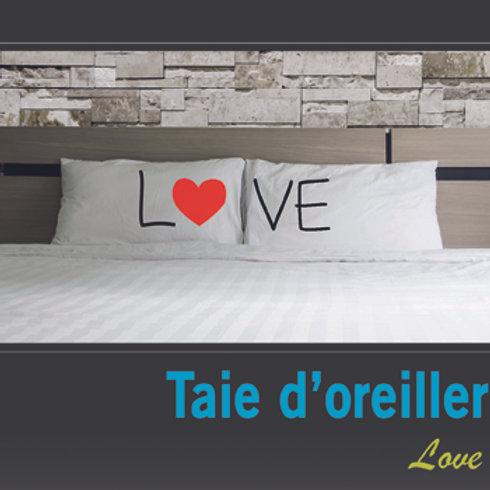 Taie oreiller Love