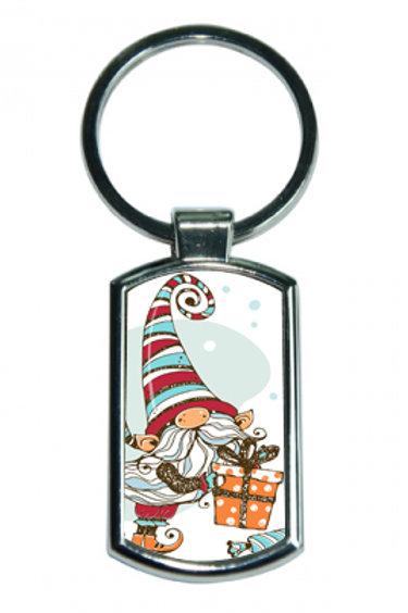 Porte clé rectangle Lutin