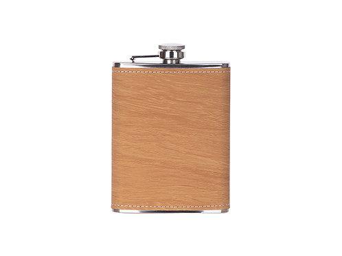 Flasque à boisson cuir imit bois en cuir AC-568