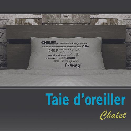 Taie oreiller Chalet