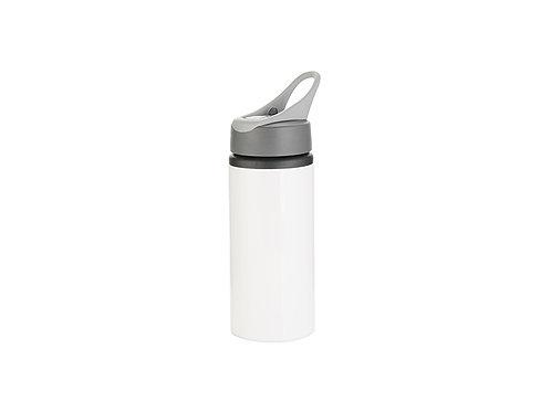 Bouteille en aluminium de 22 oz / 650 ml avec / poignée (argent)