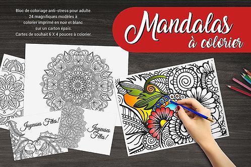 Livre Mandalas à colorier