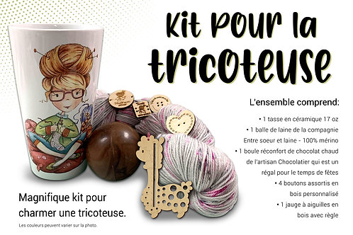 KIT DE LA TRICOTEUSE - KNITTER KIT