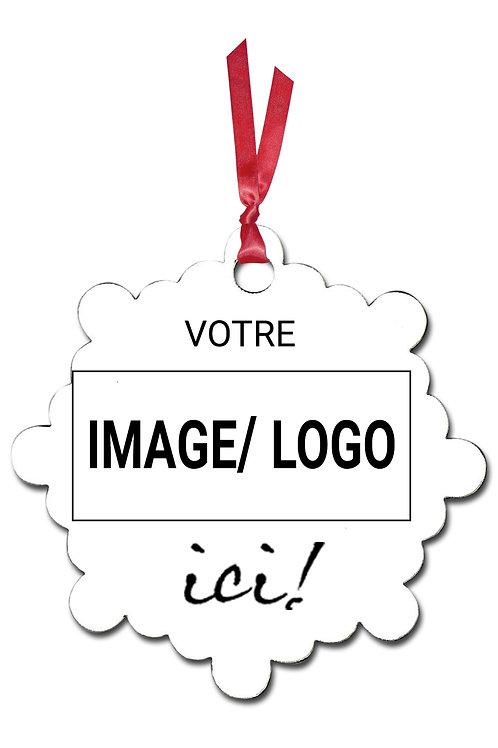 Ornement de Noël Z10-logo