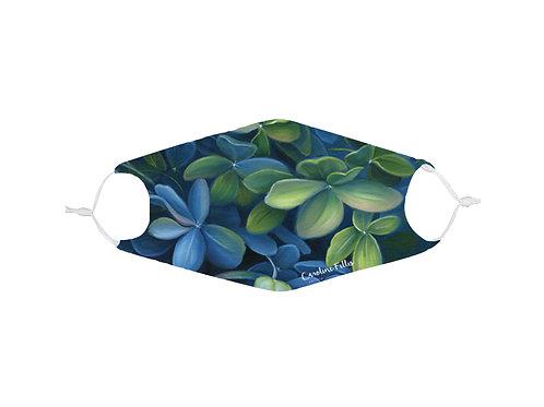 Masque avec filtre Hydrangées