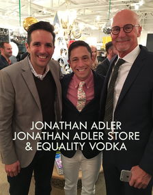 JONATHAN ADLER with EQUALITY CO FOUNDERS
