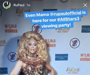 RUPAUL Viewing Party