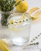 Equality vodka cocktail lemon thyme