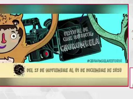 Once Noticias - Lista la cuarta edición del Festival de Cine Infantil Churumbela