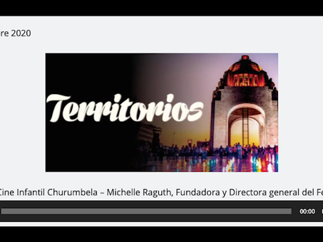 Festival de Cine Infantil Churumbela en Código Radio