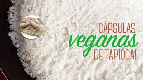 Cápsulas veganas de tapioca!