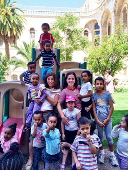 Voluntariado Jerusalen 2011