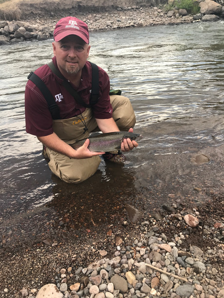 Trout from Conejos River