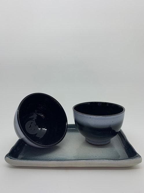 Bowl Duo M | Fundo preto