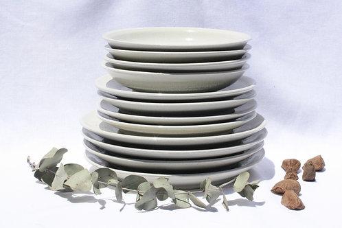 Pratos HARE #2 | 16 peças