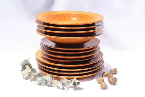 Pratos HYO #1   16 peças