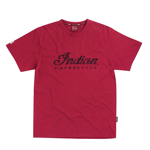 Mens Red Logo Tee