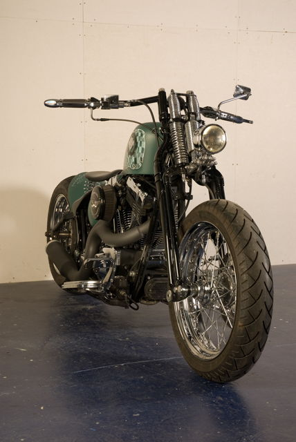 LITTLE BASTARD HARLEY CUSTOM BIKE