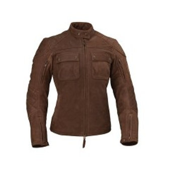 Women's Benjamin Jacket - Brown Leather