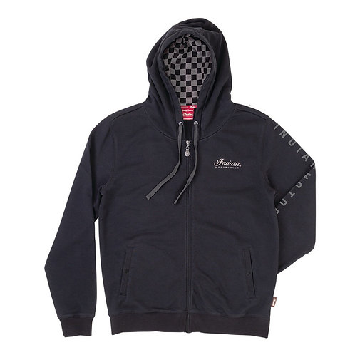Mens Checkered Hoodie