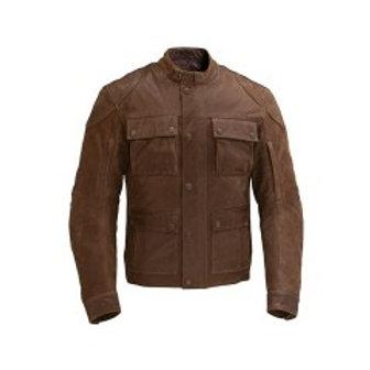Men's Benjamin Jacket - Brown Leather