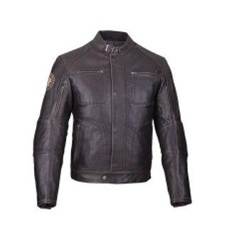 Men's Rocker Jacket - Brown Leather