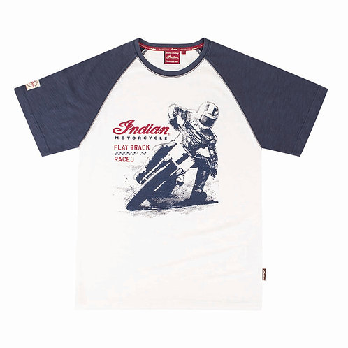Mens Flat Track Racer Tee