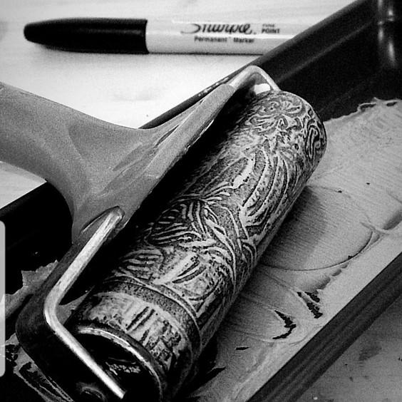 INITIATION LINOGRAVURE / Atelier (+15ans))