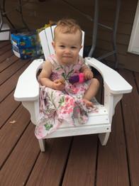 Periwinkle Kids Chair