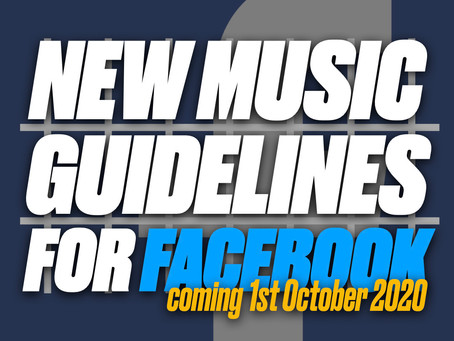New Music Guidelines for Facebook