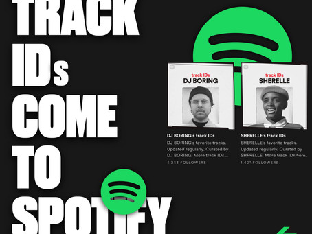 Track IDs come to Spotify