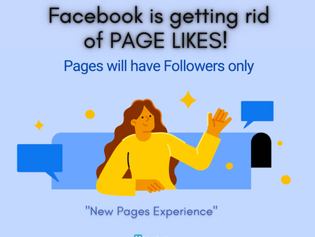 """FACEBOOK IS GETTING RID OF """"LIKES"""
