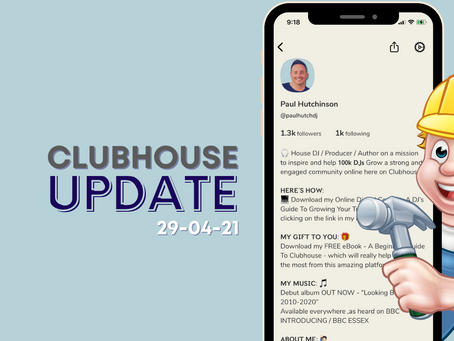 NEW UPDATES TO CLUBHOUSE