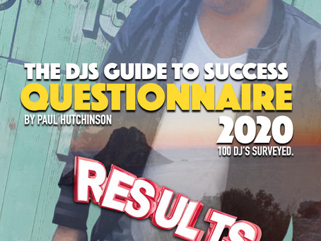 A DJs Guide To Success Questionnaire part 1 2020
