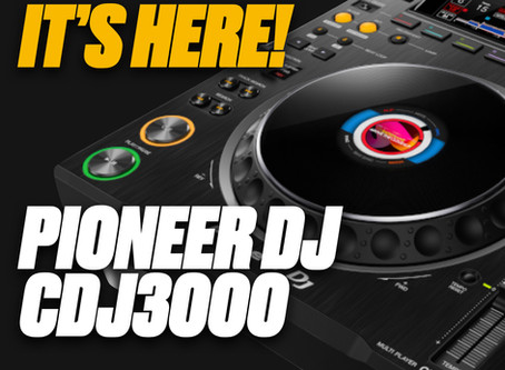 The New CDJ3000 from Pioneer is Here...