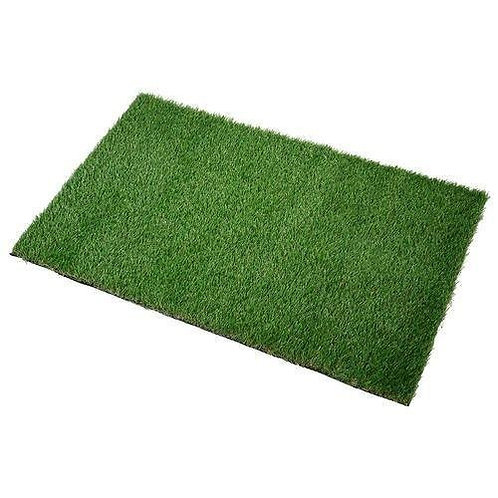 Grass Polyester Green Door Mat for Home,Balcony 16X24 Inches