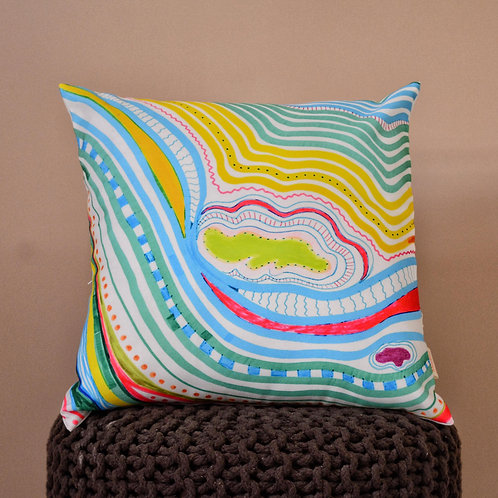 Madhu homes? Set of 2 Abstract 16x16 inch Cushion cover