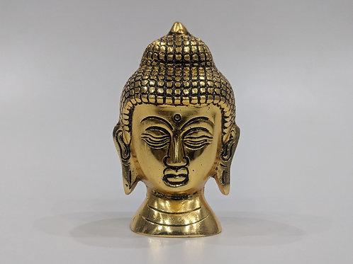 Golden Aluminium Antique Buddha Idol