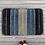 Thumbnail: Cotton Abstract Pattern 24x16 Inch Anti Skid Bath Mat