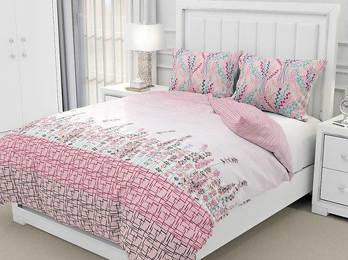 Cotton 200 TC Double bedsheet