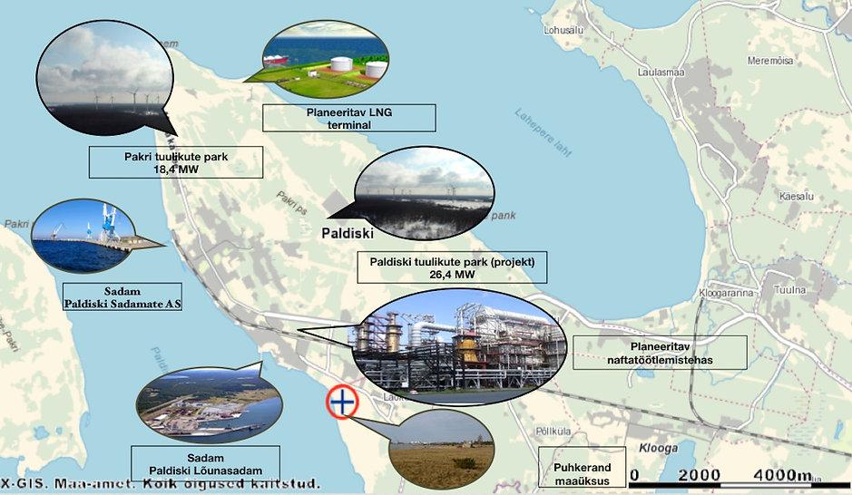 Business opportunity - Paldiski port land
