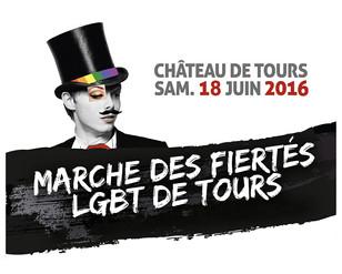 18 juin 2016: 11ème Marche des fiertés de Tours