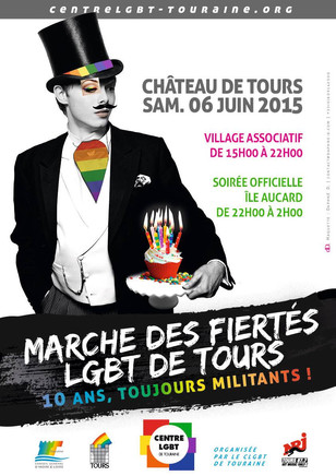Marche des Fiertés LGBT et soirée sur l'île Aucard !