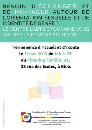 Samedi 11 mai : PAE à Blois