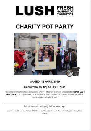 LUSH soutient le Centre LGBTI de Touraine