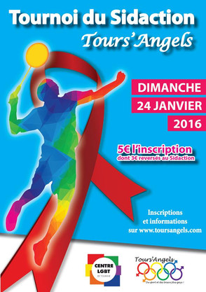 Tours' Angels organise un tournoi au profit du Sidaction