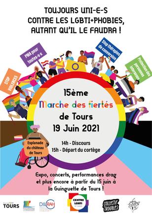 Marche des fiertés 2021 - 19 juin 2021 !