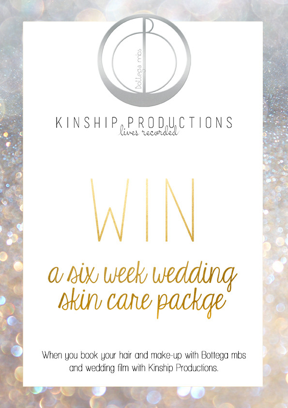 Win a 6 Week Wedding Skin Care Treatment Plan Valued at over $550